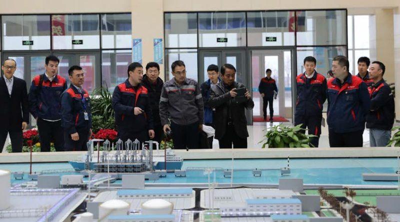 Phoenix, PNOC Visit CNOOC Site in China
